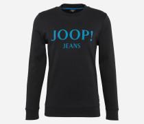 Sweatshirt 'Alfred' blau / schwarz