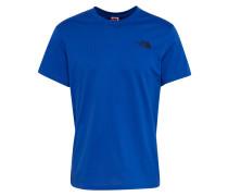 T-Shirt 'Simple Dome' blau