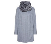 Mantel 'mantel' silbergrau / graumeliert