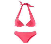 Triangel-Bikini neonpink