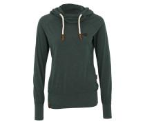Sweatshirt 'Mandy' dunkelgrün