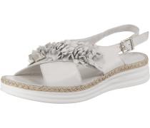 Sandaletten ecru / naturweiß