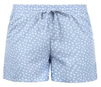 Shorts 'Amal' hellblau / weiß