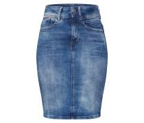 Rock 'Lynn Slim Skirt' blue denim