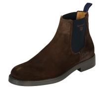 Chelsea Boots 'Oscar' nachtblau / braun