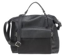 Handtasche 'Quadro Dietrun' schwarz
