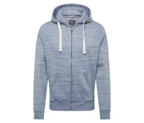Sweatjacke 'North' dunkelblau