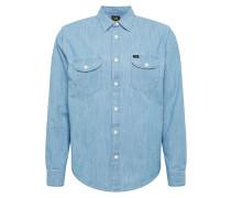 Hemd ' Worker' blau