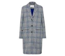 Mantel dunkelblau / grau