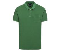 Poloshirt 'Ams Blauw garment dyed polo with XXX pocket'