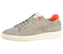 Sneaker grau / orange