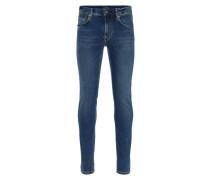 Jeans 'Damien Subtly Worn' blau