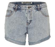 'nmfran' Denim Shorts hellblau