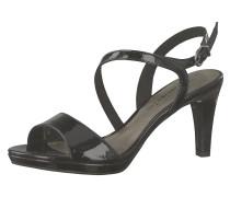 Klassische Sandalette schwarz