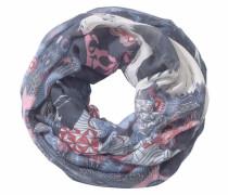 Loop rauchblau / grau / mischfarben / rosa