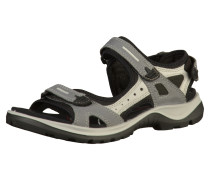 Sandalen grau / schwarz