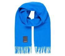 Schal 'Champ Solid' blau