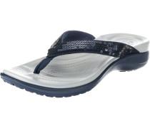 Zehentrenner 'Capri V Sequin W' blau / grau