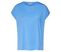 T-Shirt 'ava Plain' hellblau