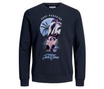 Sweatshirt nachtblau / mischfarben
