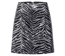 Rock 'Zebra' schwarz / silber
