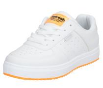 Sneaker orange / weiß