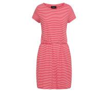 Kleid 'objstephanie' rot / weiß