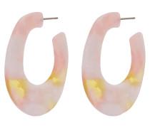 Ohrringe 'Haddie' gelb / rosa