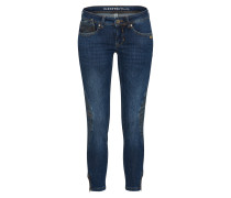 Jeans'FAYE Biker' blue denim