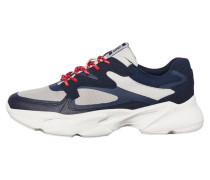 Sneaker navy / hellgrau / weiß