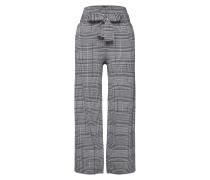 Hose 'Wide Leg Pant' grau / schwarz