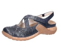 Sandalen taubenblau / hellbraun