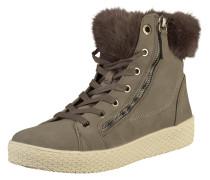 Sneaker braun / grau / weiß