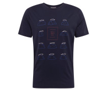 Shirt 'jaames Chill ON A Hill' navy