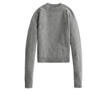 Pullover 'cashmere Mock' hellgrau