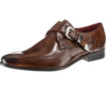 Schuhe braun / rot / schwarz