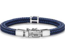 Armband navy / silber