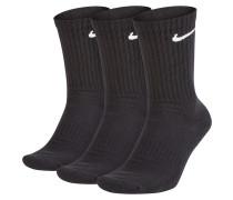 Sportsocken schwarz / weiß