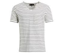 Shirt ' Tadg ' schwarz / weiß