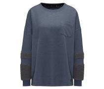 Pullover taubenblau / dunkelgrau