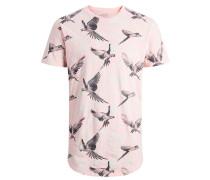 T-Shirt rosa / silber