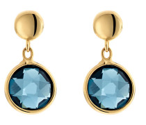Ohrhänger '87482146' blau / gold