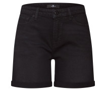 Shorts 'boy' black denim