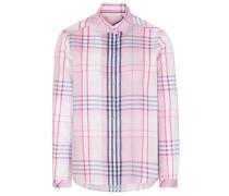 Bluse rosa / dunkelblau
