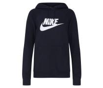 Sweatshirt 'Essntl' schwarz / weiß