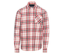 Hemd rot / weiß