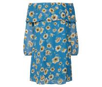 Sommerkleid blau / goldgelb