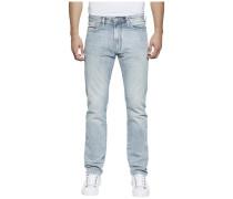 Jeans 'straight Slater Molbr' hellblau