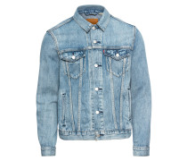 Jacke 'the Trucker' blue denim