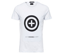 Schilchtes T-Shirt weiß
